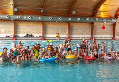 Sommerpause der Kleinkinder im Freizeitbad